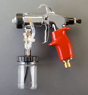 P/N 0070XM  - 6 oz. cup Spray Gun